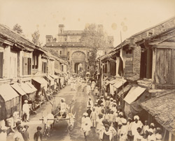 Road to Old Rajwada and Nagar Khana [Kolhapur].